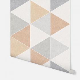 Scandi Triangle Orange 908207