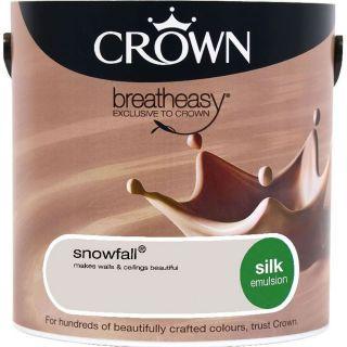 CROWN SILK EMULSION - SNOWFALL 5L