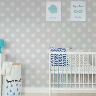 Dotty Grey Wallpaper - 110415