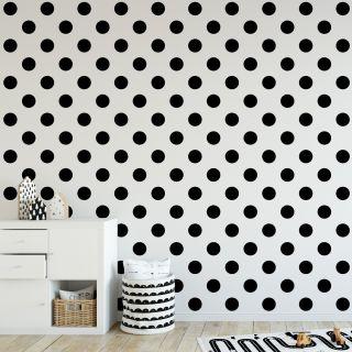 Dotty Black Wallpaper - 110415
