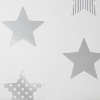 Superstar Silver Wallpaper - 110615