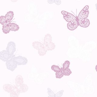Butterfly Pink Wallpaper - 110315