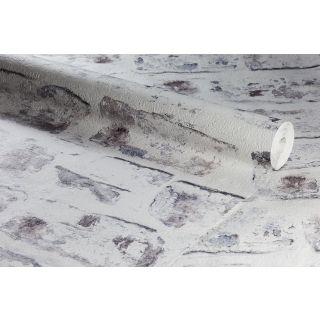 Anaglypta Embossed Realistic White Brick Textured Wallpaper - 1003617