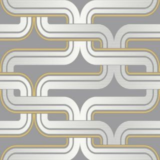Arthouse Link Grey and Yellow Wallpaper 902405