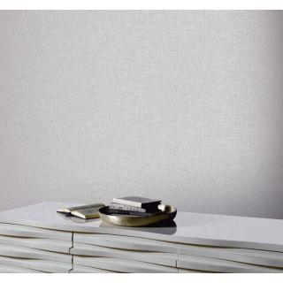 Arthouse Linen Texture Mid Grey Wallpaper 676007