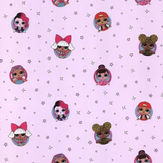 Debona LOL Surprise Dolls Baby Pink Wallpaper