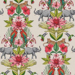 Rasch Colonial Elephant Forest Multi Wallpaper 270419
