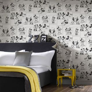 Mickey and Minnie Sketch Wallpaper - 19116