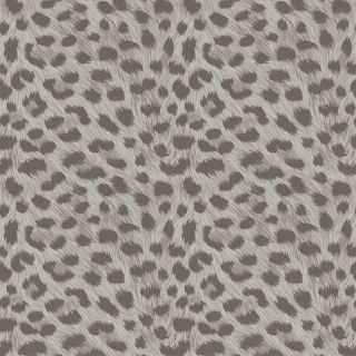 Fine Decor Animal Print Silver Grey Wallpaper FD42467