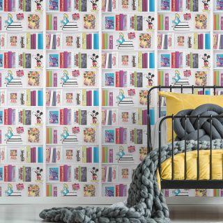 Disney Bookshelf Wallpaper - 101818
