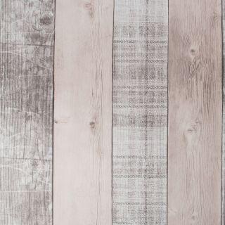 Fresco Country Plank Blush Wallpaper - 107459