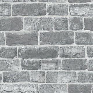 Rasch Luxury Wallpaper Urban Faux Brick Grey Feature Wall- Wallpaper  217346
