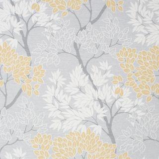 Fresco Lykke Tree Ochre Wallpaper - 107746