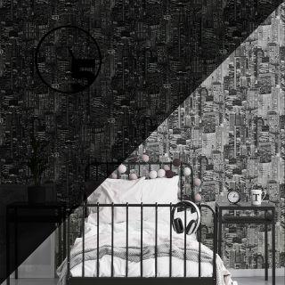 Luminocity Mono - Glow In The Dark Wallpaper - 311018