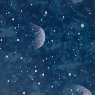 Planetarium Blue - Glow In The Dark Wallpaper - 310019