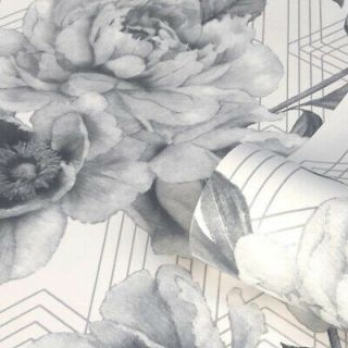 Belgravia Decor Stella Glitter Shimmer Luxury  Wallpaper-Neutral/Grey- 9753