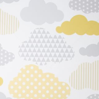 Clouds Yellow Wallpaper - 110715 3