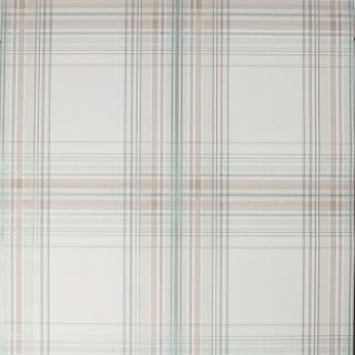 Fresco Iona Check Duck Egg Wallpaper - 108283
