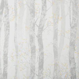 SUBLIME Dappled Trees Ochre Wallpaper - 108293