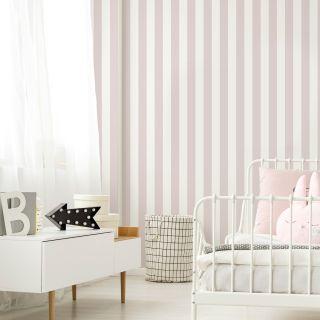 Pastel Pink Stripe Wallpaer - 110515 26