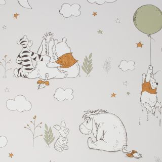 Winnie The Pooh Up, Up and Away Wallpaper - 116219