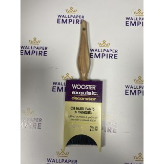 """Wooster Exquisite Oil Based & Varnishes Paint Brush 2.5"""""""