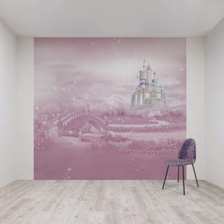 Princess Castle Mural Wallpaper