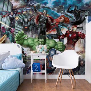 Marvel Avengers Assemble Mural Wallpaper