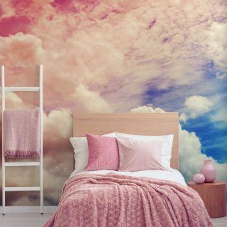 Ombre Cloud Mural Wallpaper