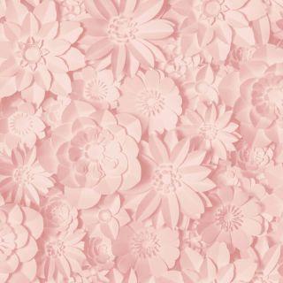 Fine Decor 3D Dimensions Floral Wallpaper-Rose Pink- FD42555