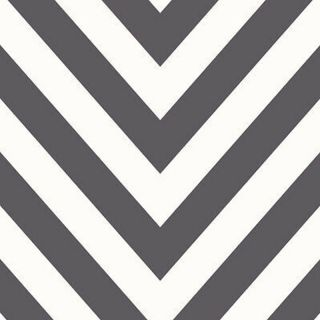 Chevron Zig Zag Wallpaper Black/White Holden 12574