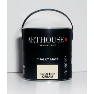 Chalky Matt Paint 2.5L - Clotted Cream 1201