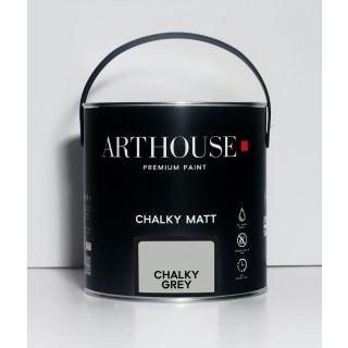 Chalky Matt Paint 2.5l - Chalky Grey 1210