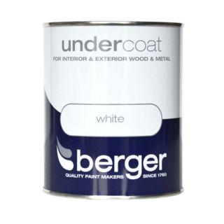 Berger Wood & Metal Undercoat – White - 750ml
