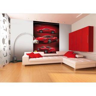 1Wall Stunning Ferrari Deco Wallpaper Wall Mural Licensed Digital Design