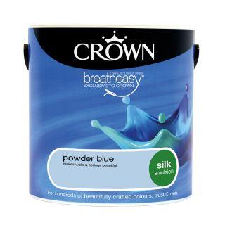 CROWN SILK EMULSION - POWDER BLUE 2.5L