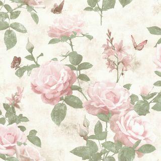 Amsterdam Floral - Pink 215007