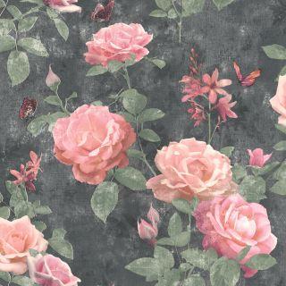 Amsterdam Floral - Black 215014