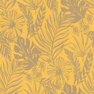 Nantucket leaf - Yellow ochre 215526