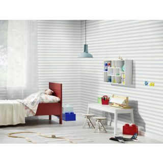 Baby Blue and White Stripe 246025