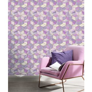 Marble Squares - Pink 248968