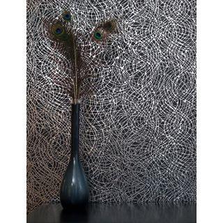 Foil Swirl Black/Silver 294100