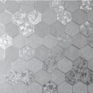 Foil Honeycomb Silver 294700