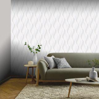 Luxe Ribbon White/Silver 295502