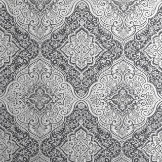 Luxe Medallion Black/Silver 295700