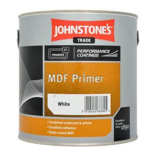 JOHNSTONE'S MDF Primer Brilliant White 2.5L