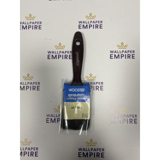 """Wooster Exquisite Utility All Paints  Decorating Paint Brush 2.5"""""""