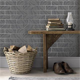 Rasch Kitchen/Bathroom Wallpaper - Grey 311327