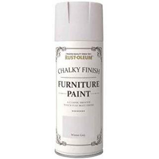 Rust-Oleum Chalky Furniture Spray Paint 400ml-Winter Grey