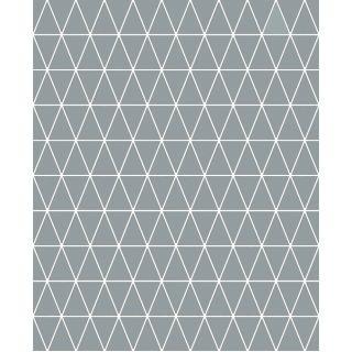Triangolin Gris Wallapaer - 15615 C